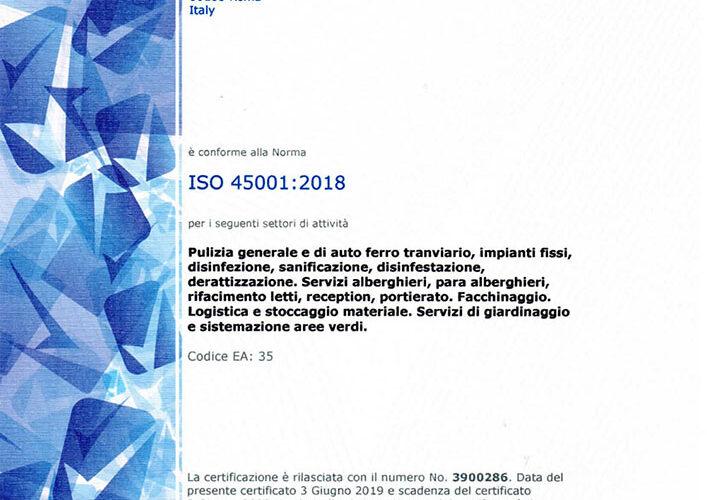 ISO 45001 fino a 2022.06.02